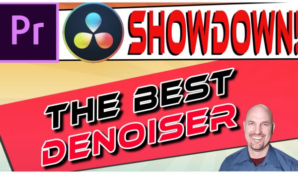 Premiere Vs. Resolve SHOWDOWN: Best Denoiser Plugin