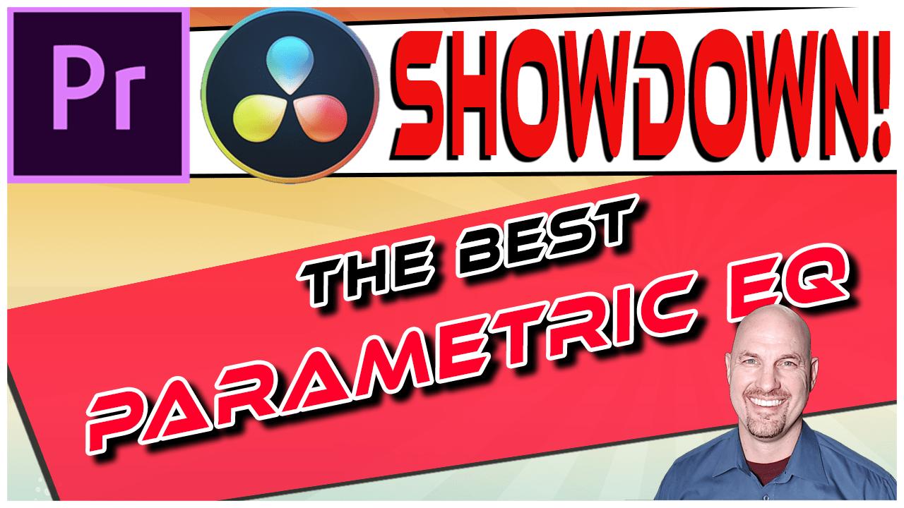 Premiere Vs. Resolve SHOWDOWN: Parametric EQ