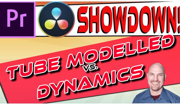 Premiere Vs. Resolve SHOWDOWN: Tube Modelled vs. Dynamics Compressors
